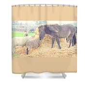 It's Time You Join Us For Dinner  Shower Curtain