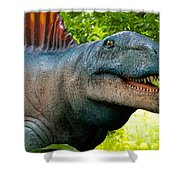 Dino In The Bronx Two Shower Curtain