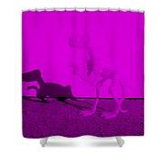 Dino Purple... Barney Shower Curtain