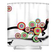 Dinosaur 2 Shower Curtain