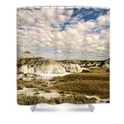 Dinosaur Badlands Shower Curtain