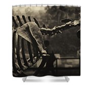 Dinosaur Bones 2 Shower Curtain