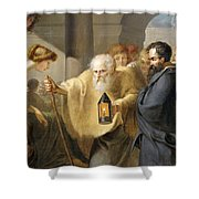 Diogenes Shower Curtain