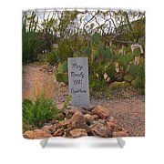 Diphtheria Victim Shower Curtain