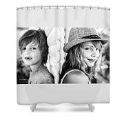 Diptych Timeva Shower Curtain