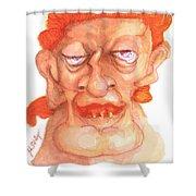Dirk Masqewlyn Shower Curtain