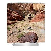 Dirty Devil Mine San Rafael Swell - Utah Shower Curtain