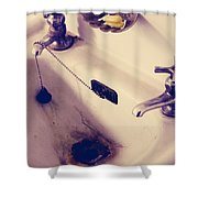 Dirty Hands Shower Curtain