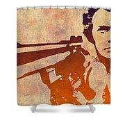 Dirty Harry - 2 Shower Curtain