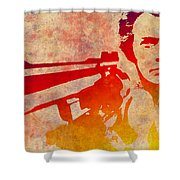 Dirty Harry - 4 Shower Curtain