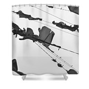 Dirty Laundry 3 Shower Curtain