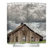 Disappearing America Shower Curtain