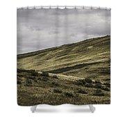 Disaster Peak Road Valley Shower Curtain