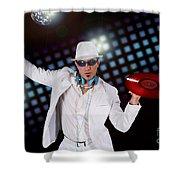 Disco Dj Shower Curtain