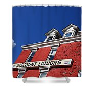 Discount Liquor Store Shower Curtain