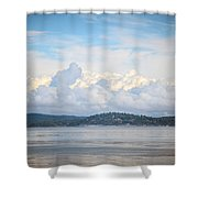 Early Morning Discovery Passage  Shower Curtain