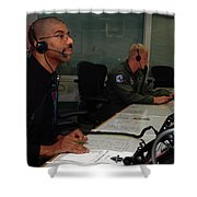Discovery Space Shuttle Control Room Shower Curtain