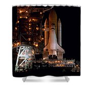 Discovery Space Shuttle Shower Curtain