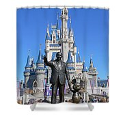 Disney And Mickey Shower Curtain