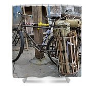 Disney Bicycle Shower Curtain