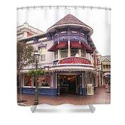 Disney Clothiers Main Street Disneyland 02 Shower Curtain