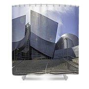 Disney Concert Hall Los Angeles Shower Curtain