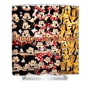 Disney Cuddlies Shower Curtain