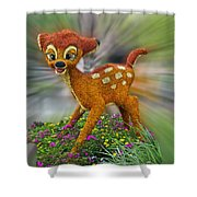 Disney Floral Bambi Shower Curtain