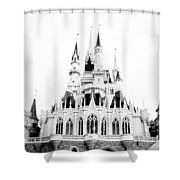 Disney Old School Shower Curtain