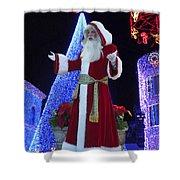 Disney Santa Shower Curtain