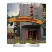 Disneyland Downtown Disney Signage 03 Shower Curtain