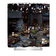 Disneyland Grand Californian Hotel Lobby 01 Shower Curtain