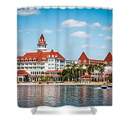 Disney's Grand Floridian Resort And Spa Shower Curtain