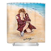 Disperazione Shower Curtain
