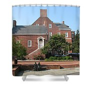 Display Patience Sculpture - Annapolis Shower Curtain