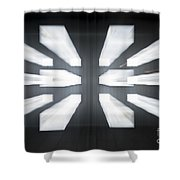 Display Screens Shower Curtain