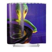 Disrobin' For A Probin' Shower Curtain