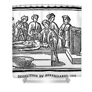 Dissection, 1535 Shower Curtain