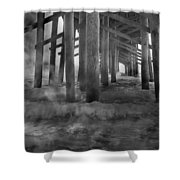 Dissipation  Shower Curtain
