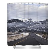 Distance Is Near Shower Curtain