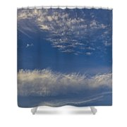 Distant Clouds Shower Curtain