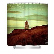Distant Direction Shower Curtain