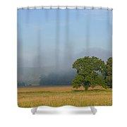Distant Fog Shower Curtain