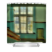 Distant Memories - Pullman High School Shower Curtain