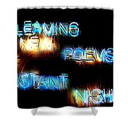 Distant Nights Shower Curtain