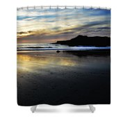 Distant Shores Shower Curtain