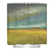 Distant Shower Curtain