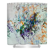 Distinguishing Pain From Problem 1 Shower Curtain