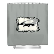 Distorted Vision Shower Curtain