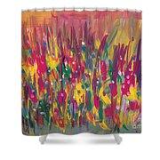 Distortion Shower Curtain